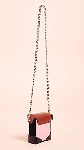 Pristine Chain MANU Bag Atelier Bubblegum Redbole Micro Gold Box Women's Black with 4wwRqCxUa