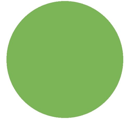 "Kwik-Covers 60-Lime Green 60"" Round Kwik-Cover-Lime Green..."
