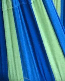 Hammock Sky Large Brazilian Hammock Chair, Blue & Green