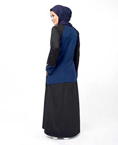 SilkRoute© Sporty Chic Jilbab , Loose 56 Sporty design, Maxi Summer full sleeve Long Dress sports abaya style