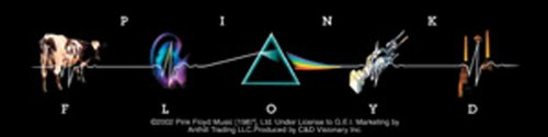 Licenses Products Pink Floyd L.P. Collage Sticker (Collage Sticker)