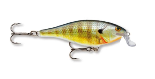 Rapala Shallow Shad Rap 07 Fishing lure (Bluegill, Size- 2.75)