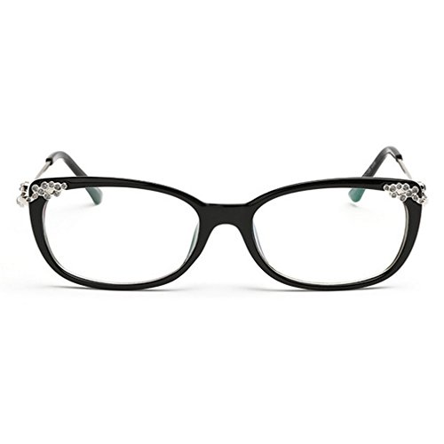 LOMOL Womens Fashion Trendy Rereo Cute College Style Transparent Lens EyeGlasses Plain - Trends Hottest Eyeglasses In