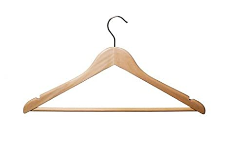 100 x el colgante de madera perchero vestido camiseta top ...