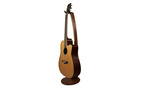 Ruach Original Wooden Galanta Acoustic Electric Guitar Stand – Handmade from Mahogany