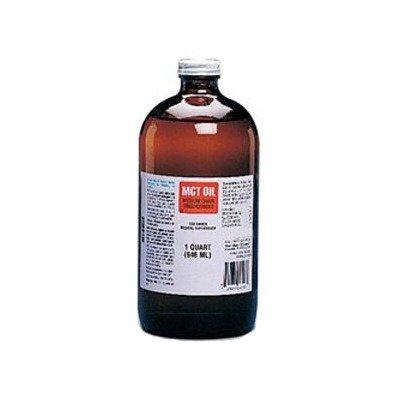 8503651300EA - Nestle Healthcare Nutrition Inc MCT Oil Medium Chain Triglycerides Unflavored 1 qt Glass Bottle