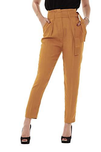 Pinko Pantaloni Carion Micro Sabl Donna fpRrnwfq