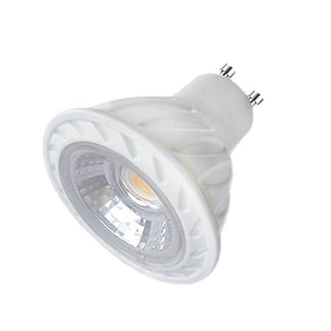 Laes 983470 Bombilla Dicroica COB LED GU10, 7 W, Blanco 50 x 57 mm: Amazon.es: Iluminación