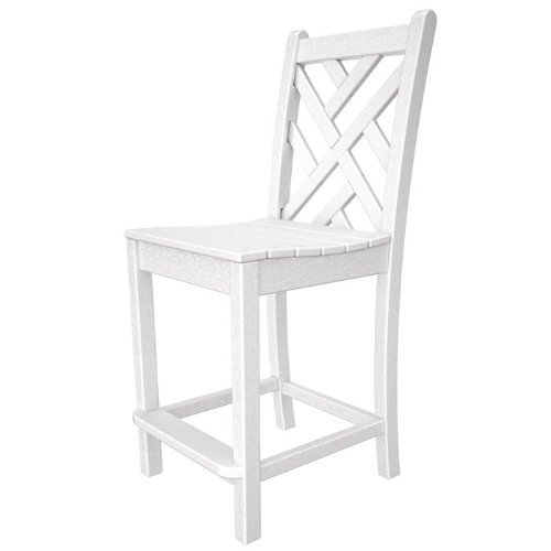 Chippendale Counter Side Chair Finish: Sand