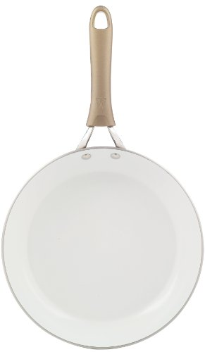 WearEver C94407 Pure Living Nonstick Ceramic Coating FPOA PTFE Free Saute Pan Fry Pan  Cookware, 12-Inch, Gold