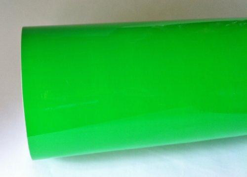 Fluorescent Green Neon Sign Vinyl, Self-adhesive,12 Inch X 10 Feet