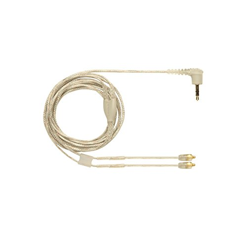 Shure EAC64CL 64 -Inch Detachable Earphone Cable for SE215, SE315, SE425 and SE535 Earphones (Clear)