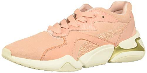 PUMA Women's NOVA Sneaker, Peach Bud, 9.5 M US