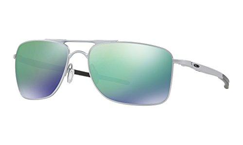 Oakley Gauge 8 Large Sunglasses Matte Lead with Jade Iridium Lens + - Sunglasses Wire Oakley