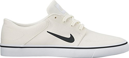 cb52082045bcdf NIKE SB Portmore Canvas Mens Trainers 723874 Sneakers Shoes (UK 10 US 11 EU  45, sail White 111)