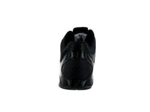 Nike Air Visi Pro Iv NBK baloncesto de los hombres de los hombres zapato negro/negro tamaño 11,5