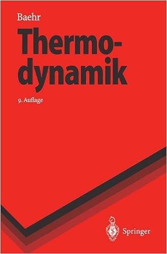 Thermodynamik (Springer-Lehrbuch)