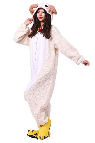 Intero Unisex Cosplay Animali Pigiama Pigiama Onesies Costume Capra wPTqWF