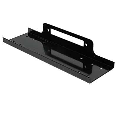 Wotefusi Car New Recovery Winch Mounting Plate Mount Bracket With Hardware For Universal Models
