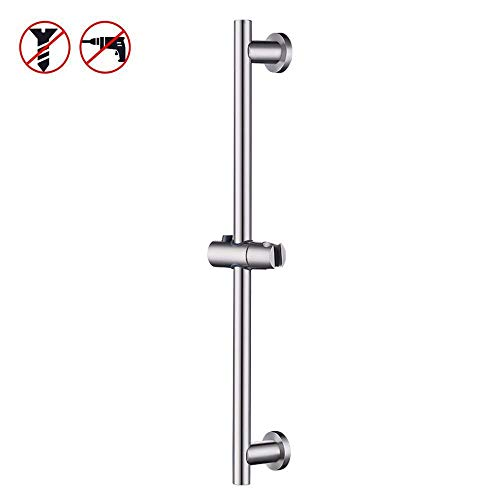 KES Shower Slide Bar for Bathroom with Adjustable Handheld Shower Holder Wall Mount, Brushed SUS 304 Stainless Steel, - Mount Sus