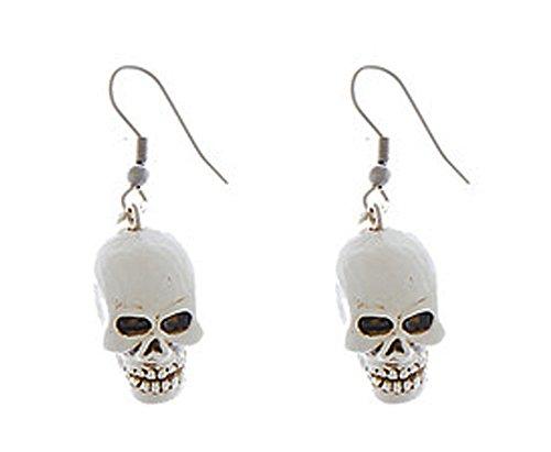 Eeery-Sistable Earrings: Skulls - By Ganz ()