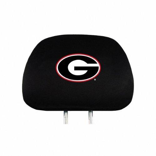 Covers Ncaa Headrest (Georgia Bulldogs Auto Headrest Covers Set of Two NCAA)