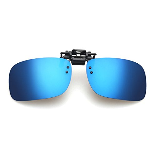 LOMOL Fashion Light Weight Polarized Nearsighted Glasses Clip-on Flip up UV Protection - Sunglasses What Is Polaroid