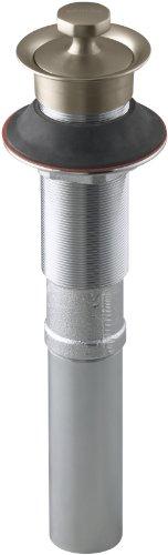 Kohler Glass Lavatory - KOHLER K-7127-BV Lavatory Drain, Vibrant Brushed Bronze