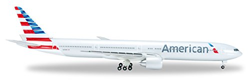 Airlines 500 American - HERPA American 777-300 1/500 New Livery Reg#N731AN Vehicle