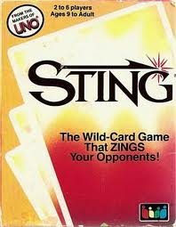 Sting: The Wild-Card Game That Zings Your -