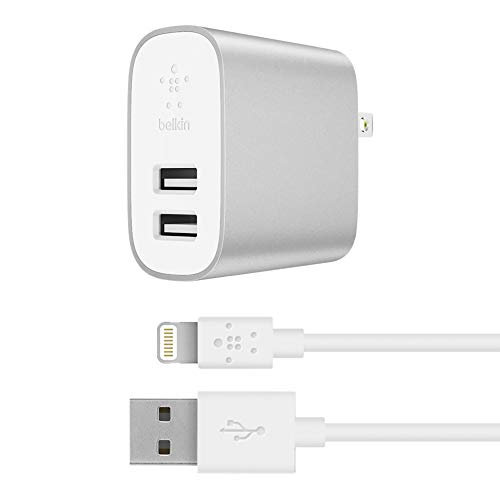 Belkin Boost Charge 2-Port Home Charger + Lightning to USB C
