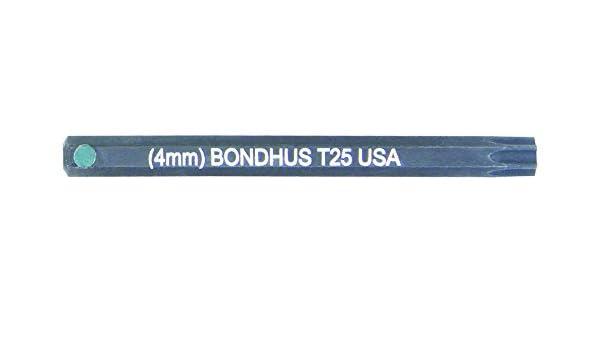 "Bondhus 32025 T25 ProHold Socket Star Bit 2/"""
