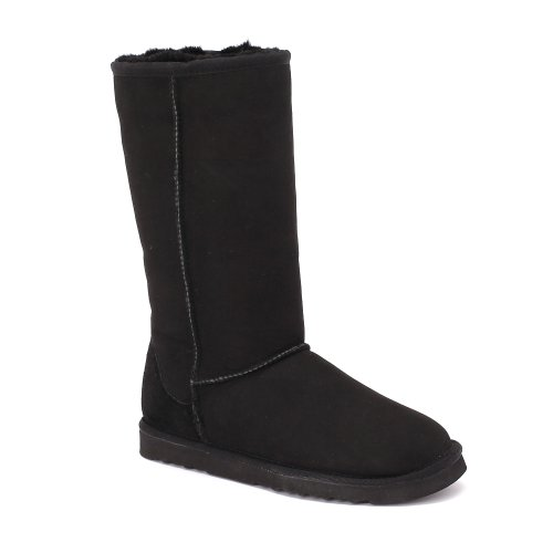 Sheep Black Sheepskin Face Tall Australian Touch Women's Boots Classic Twin xwHx6Op7q