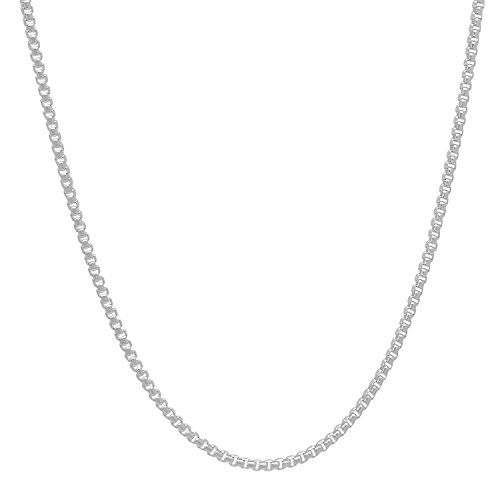 Solid Sterling Silver 1 2mm Necklace
