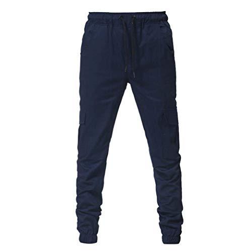 Long Loisirs Pure De Pour Printemps Style Survêtement Cordon Mode Hulday Vrac Automne Hommes Pantalon Bandage Marine Simple Pantalons Sport Couleur En À qTX5Bn0t