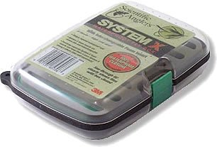 Scientific Anglers System X Waterproof Fly Box - Green -