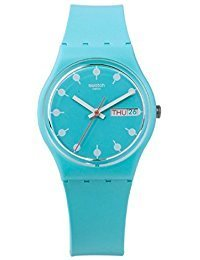 Swatch Men's Venice Beach GL700 Blue Rubber Swiss Quartz Fashion Watch