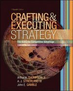 Download Crafting & Executing Strategy Quest for Comptetitive Advantage Concepts & Cases (Hardcover, 2006) 15th EDITION PDF