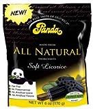 Panda B64091 Panda All Natural Soft Licorice - 12x6 Oz