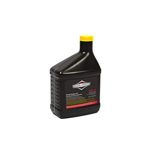 Push Mower Oil - Briggs & Stratton 100005 SAE 30W Engine Oil - 18 Oz