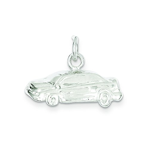 Sterling Silver Car (Sterling Silver Car Charm)
