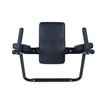 Image of Ultimate Body Press Wall Mount Dip Station with Vertical Knee Raise