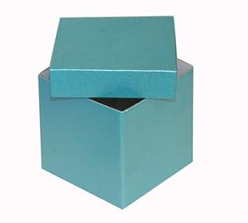 Firmengeschenke Weihnachten.Luxuriöse Geschenkbox Würfel Für Geburtstage Weihnachten Hochzeiten Oder Firmengeschenke 100 Mm Turqiose