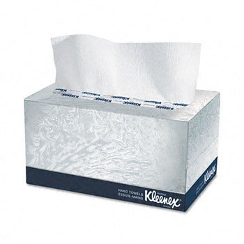 Kimberly-Clark® Professional KLEENEX® Hand Towels in a POP-UP Box TOWEL,HAND, POP-UP BX,WE (Pack of20)
