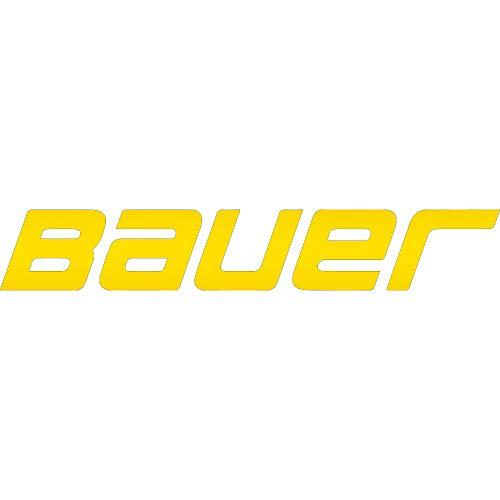NBFU DECALS Logo Bauer (Metallic Gold) (Set of 2) Premium Waterproof Vinyl Decal Stickers for Laptop Phone Accessory Helmet CAR Window Bumper Mug Tuber Cup Door Wall Decoration
