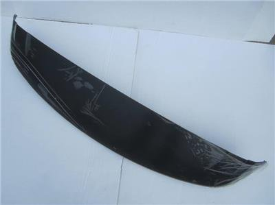 Pathfinder Rear Roof Spoiler Wing KH3 Super Black Obsidian (Oem Rear Spoiler)