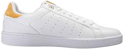 Femme Sneakers White Cmf Bright Basses Gold Clean Court K Swiss wBxqYaOFp