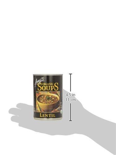 Amy's Soups, Organic Lentil Soup, 14.5 Ounce by Amy's (Image #9)