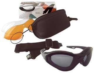 Zan Headgear Spektrax Convertible Sunglasses/Goggles BSTT0C1AC