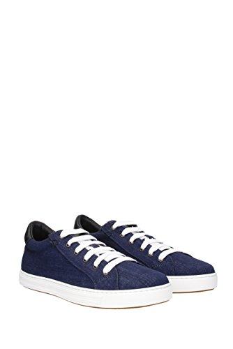 Sneakers Dsquared2 Tennis Klub Herre - Stoff (sn103101) Eu Blau dHk15a